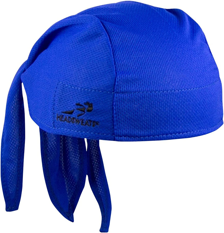 Headsweats Classic Bandana Piraten Kopftuch Blau One Size 8800 804 Bekleidung