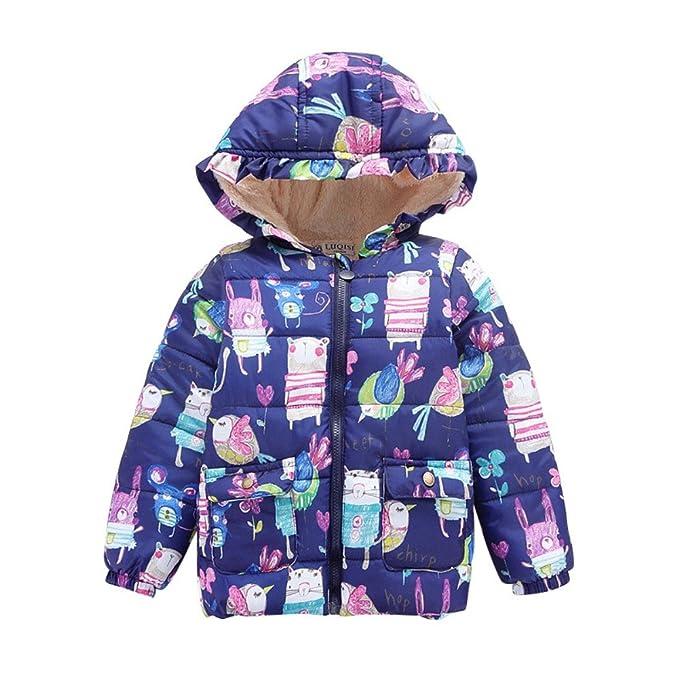 Amazon.com: soly Tech – Little Girls invierno con capucha ...