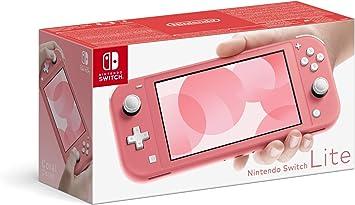 comprar Nintendo Switch Lite Coral