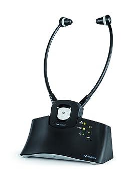 Meliconi HP STETO - Auricular inalámbrico TV + Base de Recarga, 20 m.: Meliconi: Amazon.es: Electrónica