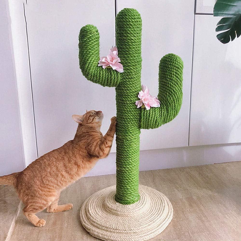 UTOPIAY Árbol Rascador para Gato Creativo, Torre de Escalada en Forma de Cactus Centro de Actividades Sisal Rascadores Postes Muebles: Amazon.es: Hogar