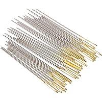 Kit de costura, conjunto de accesorios de costura Agujas Tijeras Herramientas artesanales Color aleatorio 24PCS