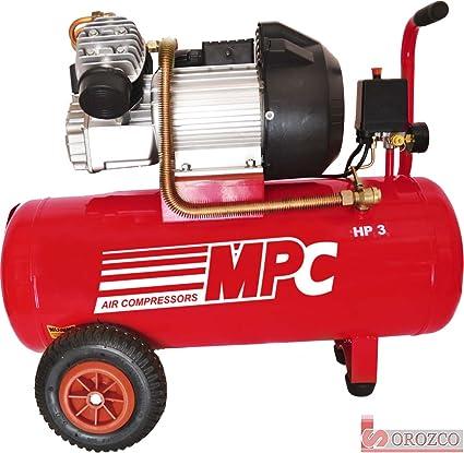 Compresor de aire 230v 3cv 50 litros MPC CDV-350