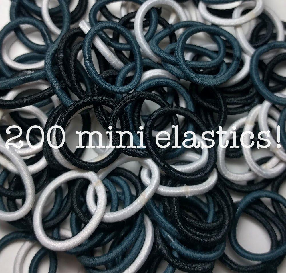 Amazon.com   200 Mini Hair Elastics 389ac9c28eb