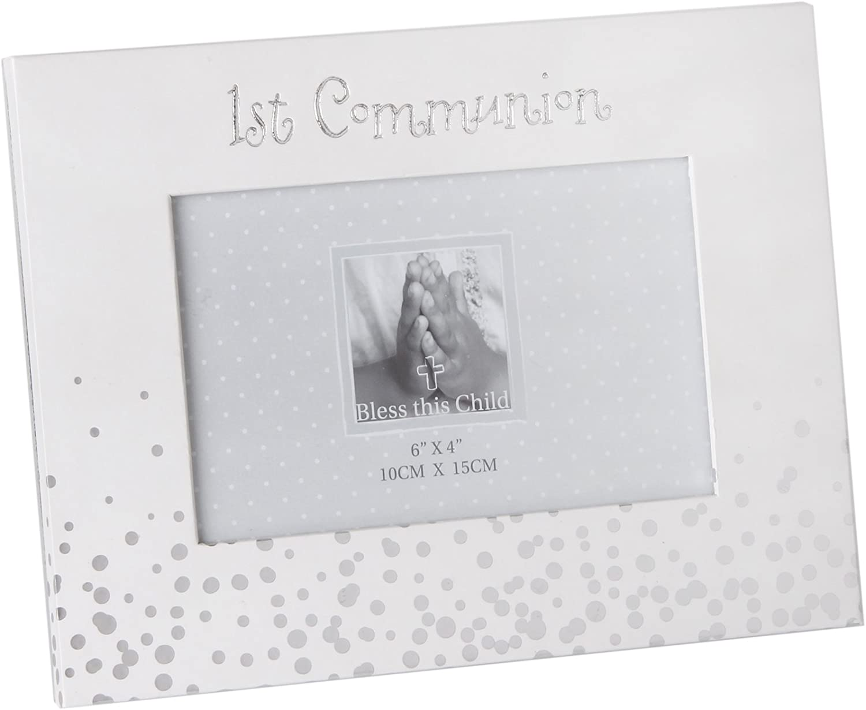 "Bless This Child/' Album Silver Dots /""1st Communion/"" 6x4/"""