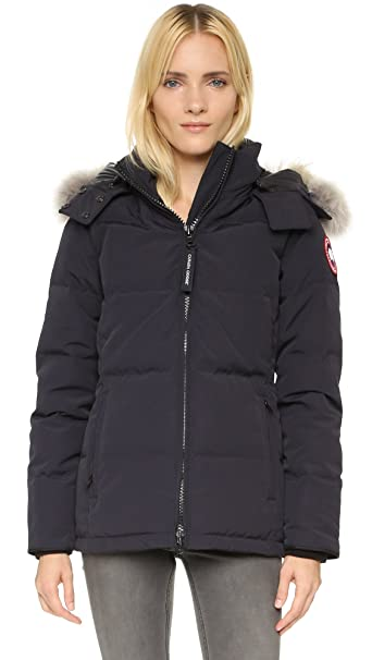 Canada Goose Ladies Chelsea Parka Coat Navy | XS