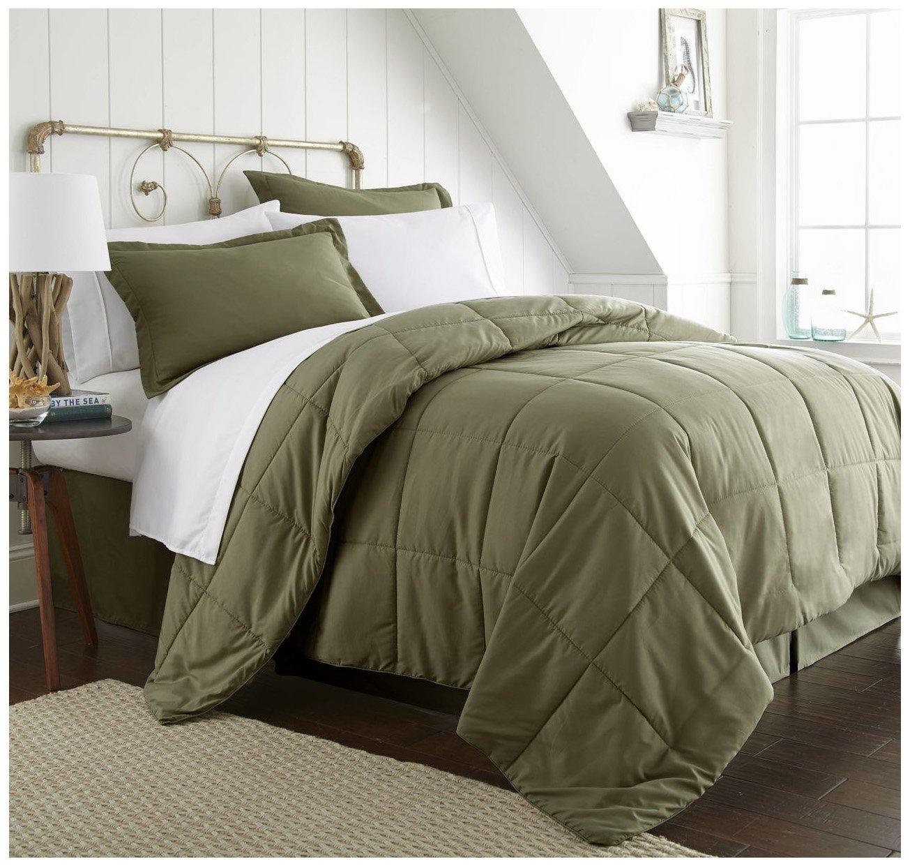 ienjoy Home Bed in a Bag, Queen, Sage