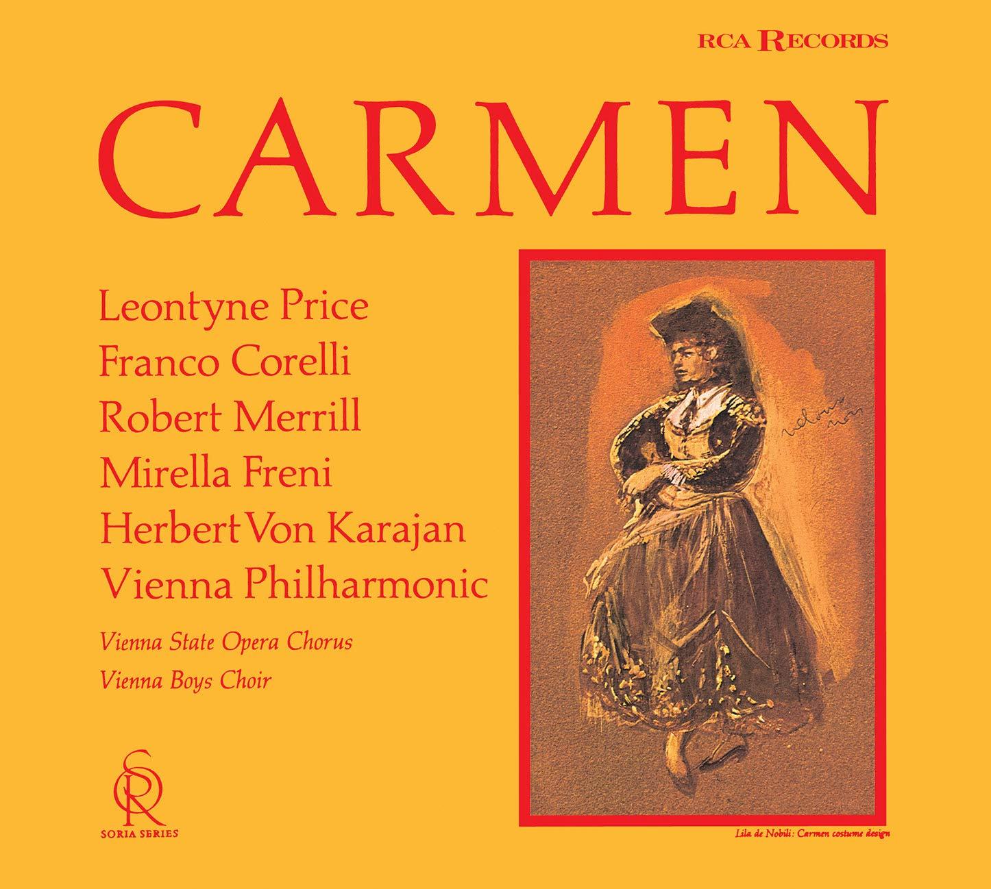 SACD : VON KARAJAN,HERBERT - Bizet: Carmen (Limited Edition, Direct Stream Digital, Japan - Import, Single Layer SACD)