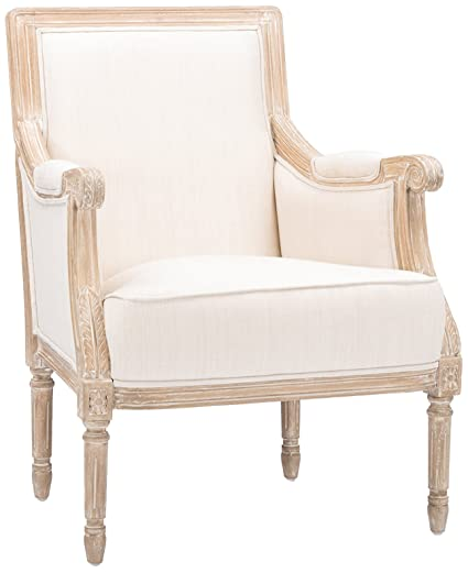 Amazon Com Baxton Studio Chavanon Wood And Linen Traditional French