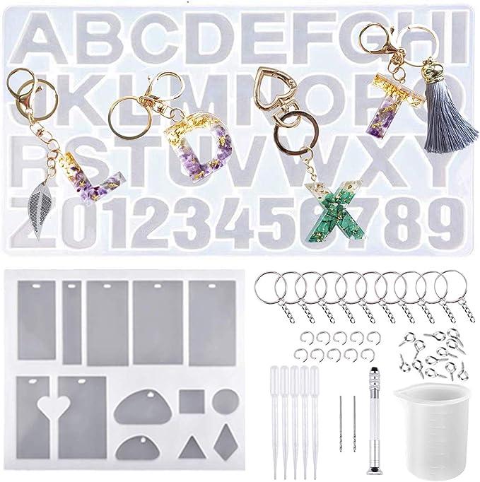 Winzwon Silikonformen Epoxidharz Set 3 St/ück Resin Gie/ßharz Silikonform Resin Mold Gie/ßformen Silikonform Untersetzer f/ür DIY Basteln