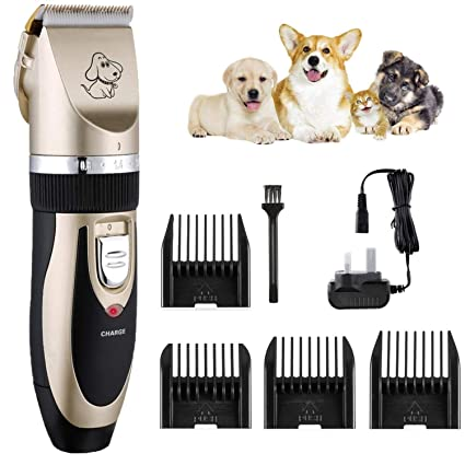 Pet Needs Electric Dog Clippers Low Noise Pet Clippers ...
