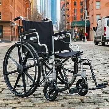 Amazon.com: Silla de ruedas de 4 ruedas: Health & Personal Care