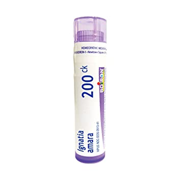 Boiron Ignatia Amara 200CK, 80 Pellets, Homeopathic Medicine for Stress