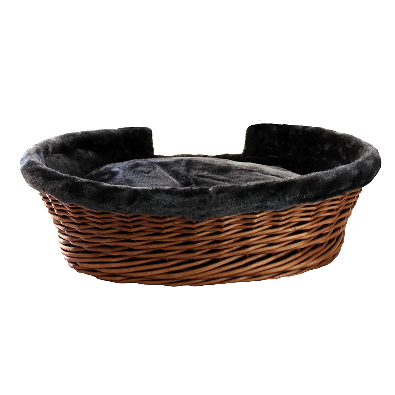 MICHUM LUMPI TABACCO letto per cani cestino per gatti cestino per cani malacca cestino per cani in malacca salice per gatti salice TABACCO disponibile in diverse misure!
