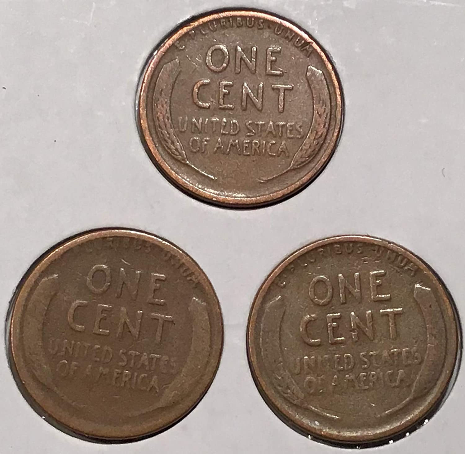 1927-P D S LINCOLN WHEAT CENT YEAR SET