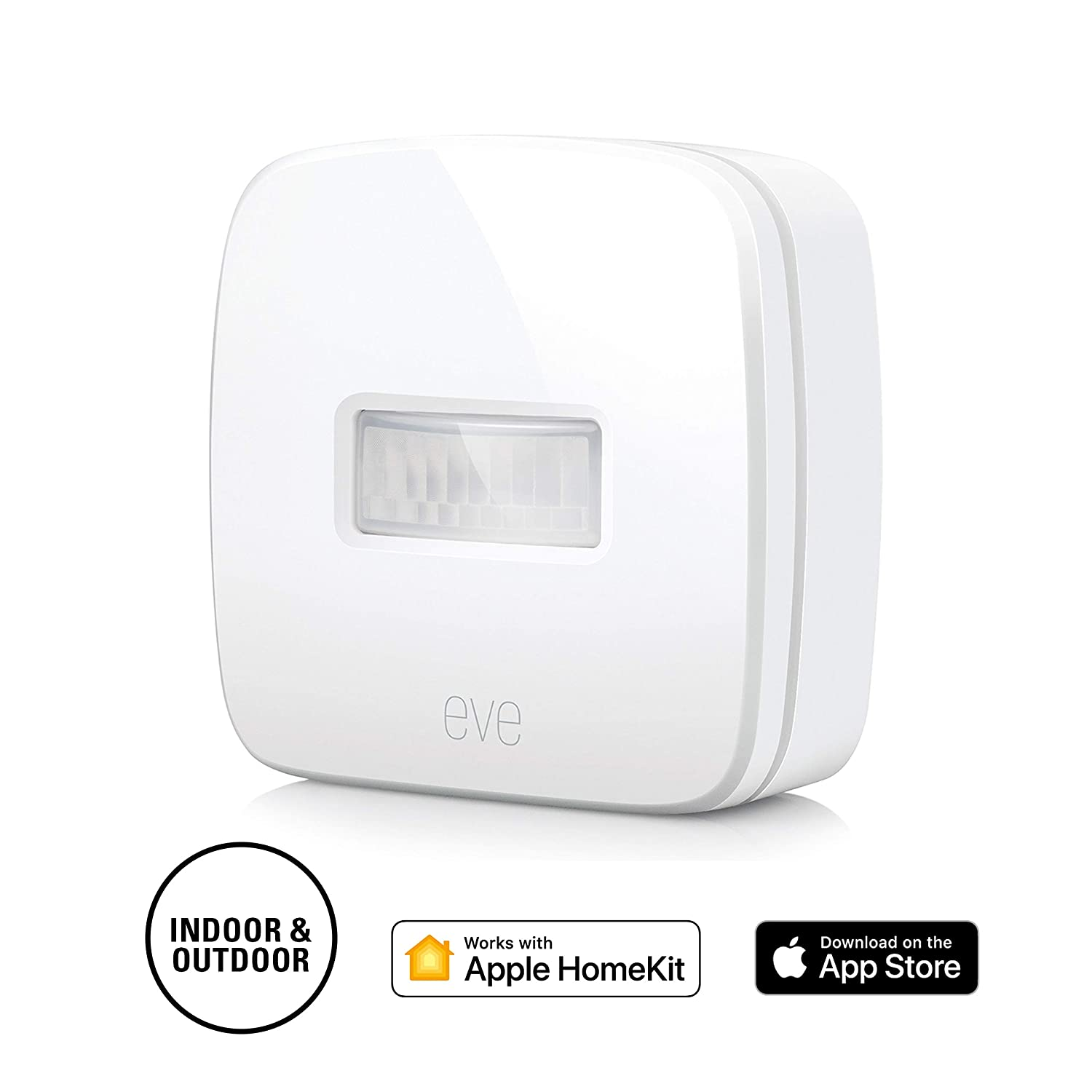 7399bde078 Eve Motion - Smart and wireless motion sensor with IPX 3 water resistance,  get notifications, automatically trigger accessories and scenes, Bluetooth  Low ...