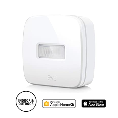 725b97ad6524 Eve Motion - Smart Wireless Motion Sensor with IPX 3 Water Resistance, get  Notifications, Automatically Trigger Accessories and Scenes, no Bridge ...
