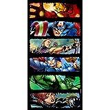 "Marvel Avengers 140 x 70 cm ""Comic Strip"" Beach and Bath Towel"