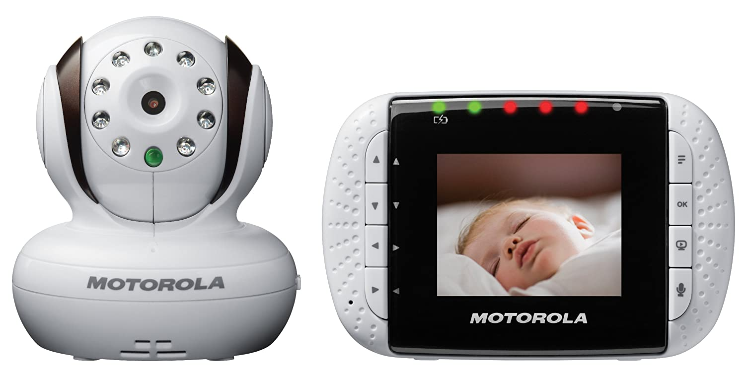 Amazon.com: Motorola MBP33 Wireless Video Baby Monitor with ...
