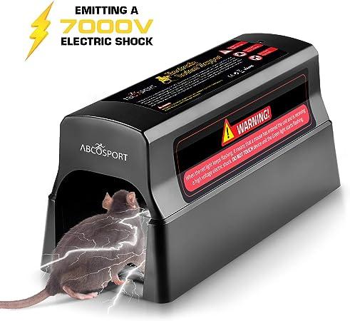 Electronic Mouse Rat Trap Rodent Killer Mice Zapper Pest Control US Plug 2019
