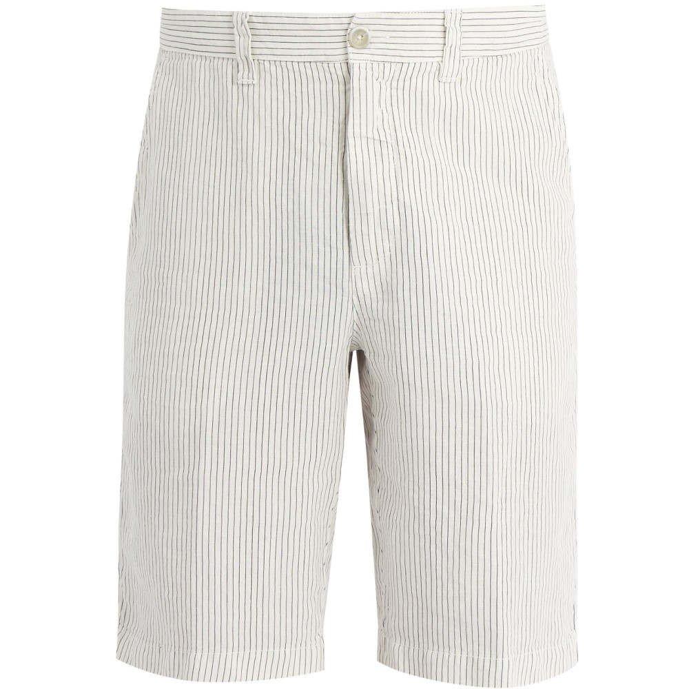 (120% リノ) 120% Lino メンズ ボトムスパンツ ショートパンツ Straight-leg linen shorts [並行輸入品] B079GHLPPW 50EU-IT