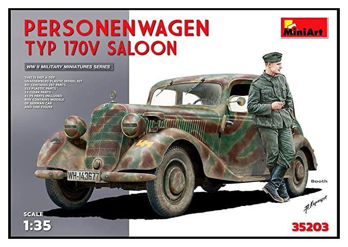 Amazon.com: Miniart 1: 35 – Personenwagen T YP 170 V Saloon ...