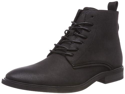 Blend 20705908 - Botines de Piel sintética Hombre, Color Negro, Talla 44 EU: Amazon.es: Zapatos y complementos