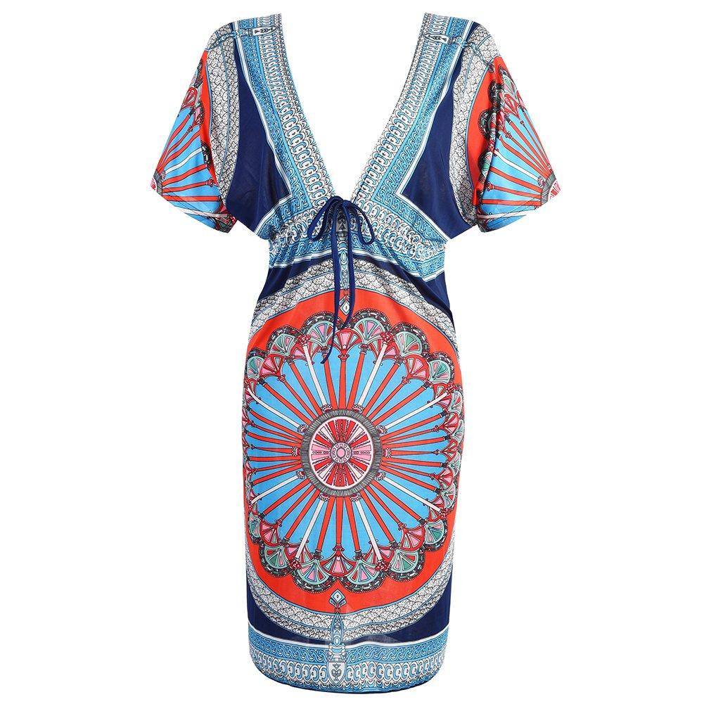 VBIGER Trajes de Baño Vestido de Playa Camisolas y Pareos para Mujer Ropa Premamá