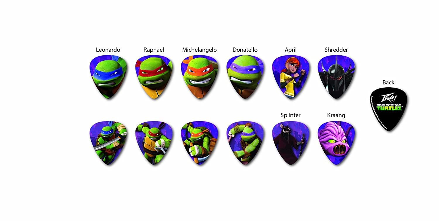 Peavey Teenage Mutant Ninja Turtles Peavey Pick Pack