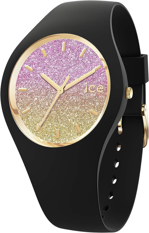 Ice-Watch - ICE lo Black Mango - Reloj nero para Mujer con Correa de silicona - 016904 (Small)
