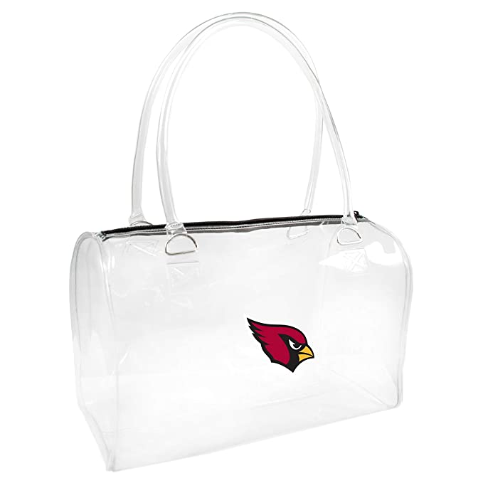 4ebf9227ab4 Amazon.com : NFL Arizona Cardinals Clear Bowler Handbag : Sports ...