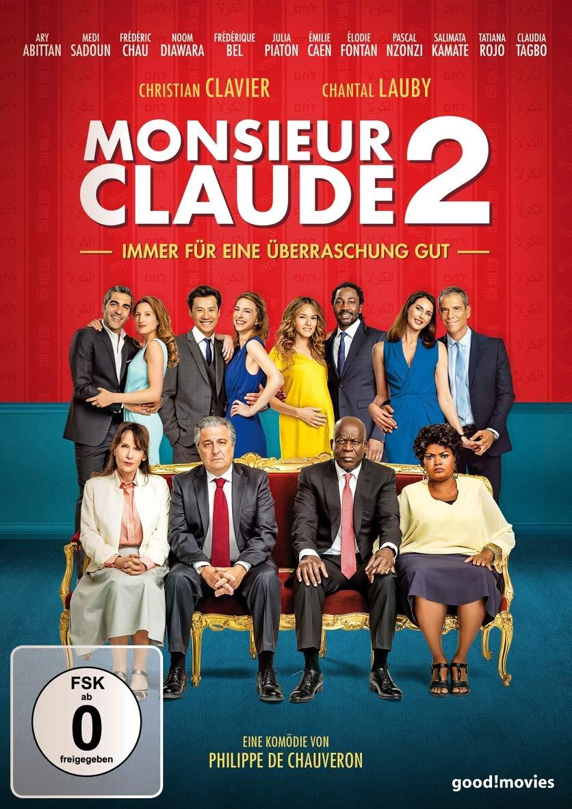 Cover: Monsieur Claude 2 - immer für eine Überraschung gut 1 DVD (circa 95 min)