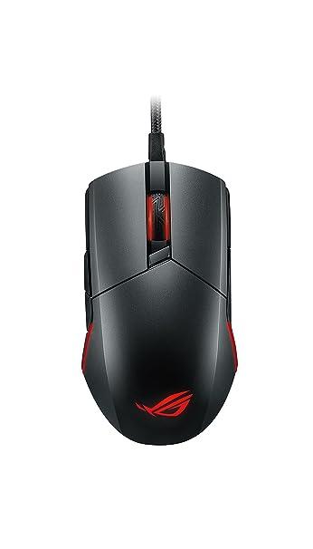 dca51eb90fa ASUS ROG Pugio Aura RGB USB Wired Optical Ergonomic Ambidextrous Gaming  Mouse