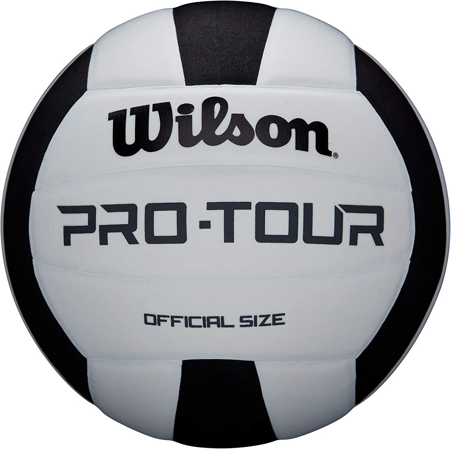 Wilson Unisex-Adult PRO TOUR VB BLKWH Volleyball
