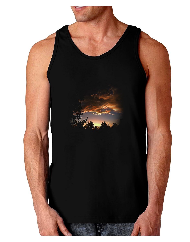 TooLoud Forest Sunset Dark Loose Tank Top