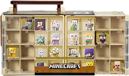 Colector de Mini-figuras Minecraft caso