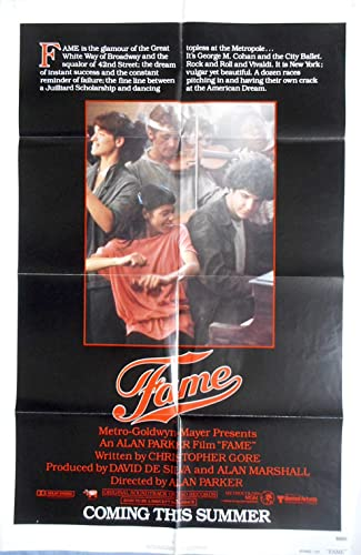a96e8d7a174 FAME ADVANCE MOVIE POSTER Irene Cara NYC School of Performing Arts #Oscars  1sht 1980 at Amazon's Entertainment Collectibles Store