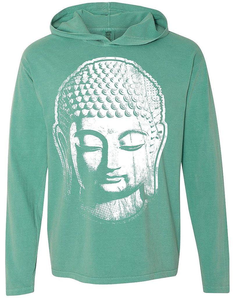 Yoga Clothing For You Mens Big Buddha Hoodie Tee Shirt 4900-BIGBUDD