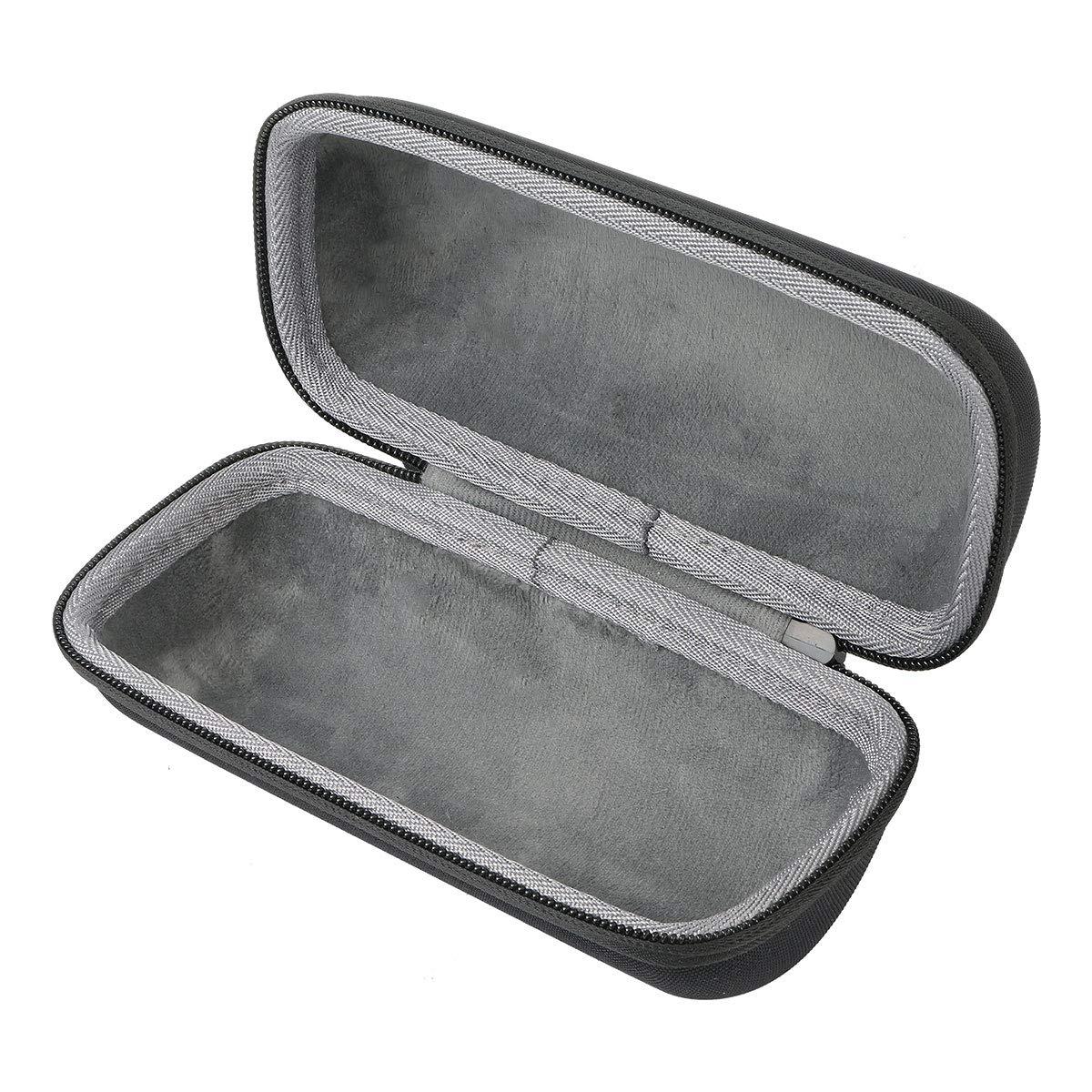 Black Case + Mint Zipper co2crea Hard Travel Case for COMISO Waterproof Bluetooth Speakers Outdoor Wireless Portable Speaker