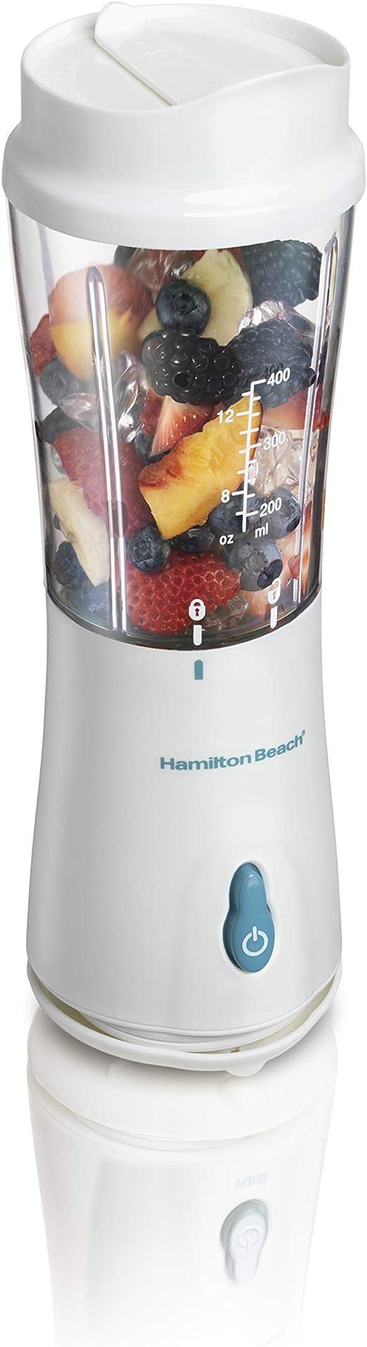 Hamilton Beach 51102 Batidora de vaso Blanco - Licuadora (Batidora ...
