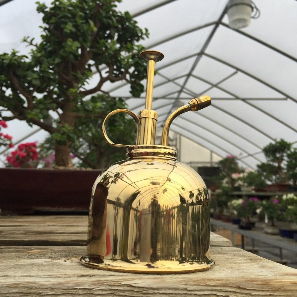 Haws Bonsai Tree Mister (Brass) from BonsaiOutlet by Tinyroots (Image #3)