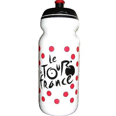 BIDON - Gourde 600ml - Le Tour de France Cyclisme - Maillot � pois - v閘o - Collection Officielle