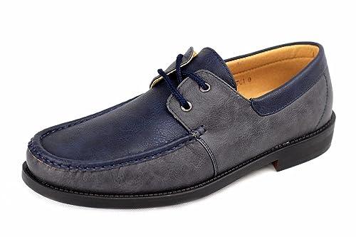 Hombre NUEVO Sin Cordones Zapatos Náuticos Conducción Mocasin Estilo Informal Mocasines Talla eu 34-40: Amazon.es: Zapatos y complementos