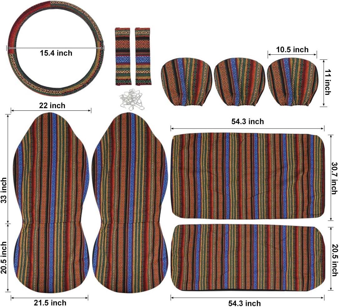 Sourcing Map 10stk Bunt Decke Dauerhaft Schalensitz Abdeckung Protector Für Auto Auto