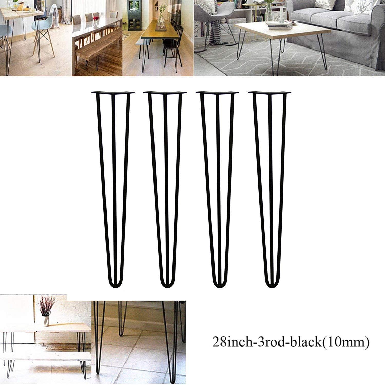 2018 Nuevo diseño 28 pulgadas (71 cm) horquilla mesa patas DIY ...