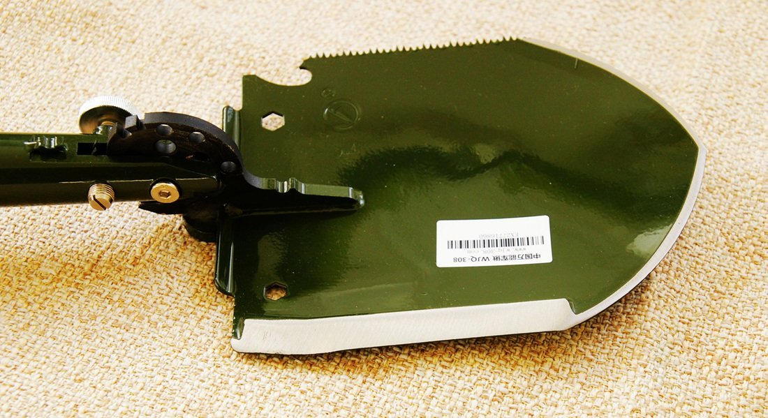 Chinese Military Shovel Emergency Tools WJQ-308 Ver 2012 with Original Waterproof Cases Bag Kit by WJQ (Image #6)