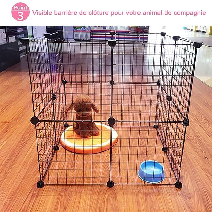 6 jaulas de hierro Jannyshop desmontables, para exteriores, para perros pequeños, gatos, 35 x 35 cm: Amazon.es: Productos para mascotas