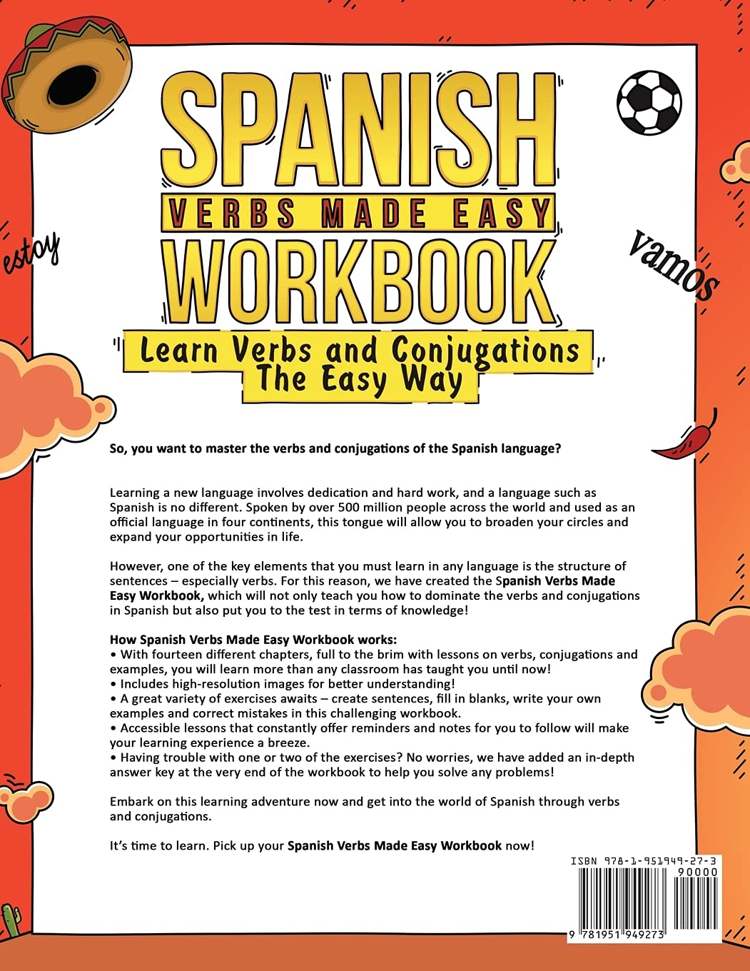 Spanish Verbs Made Easy Workbook Learn Verbs and Conjugations The ...