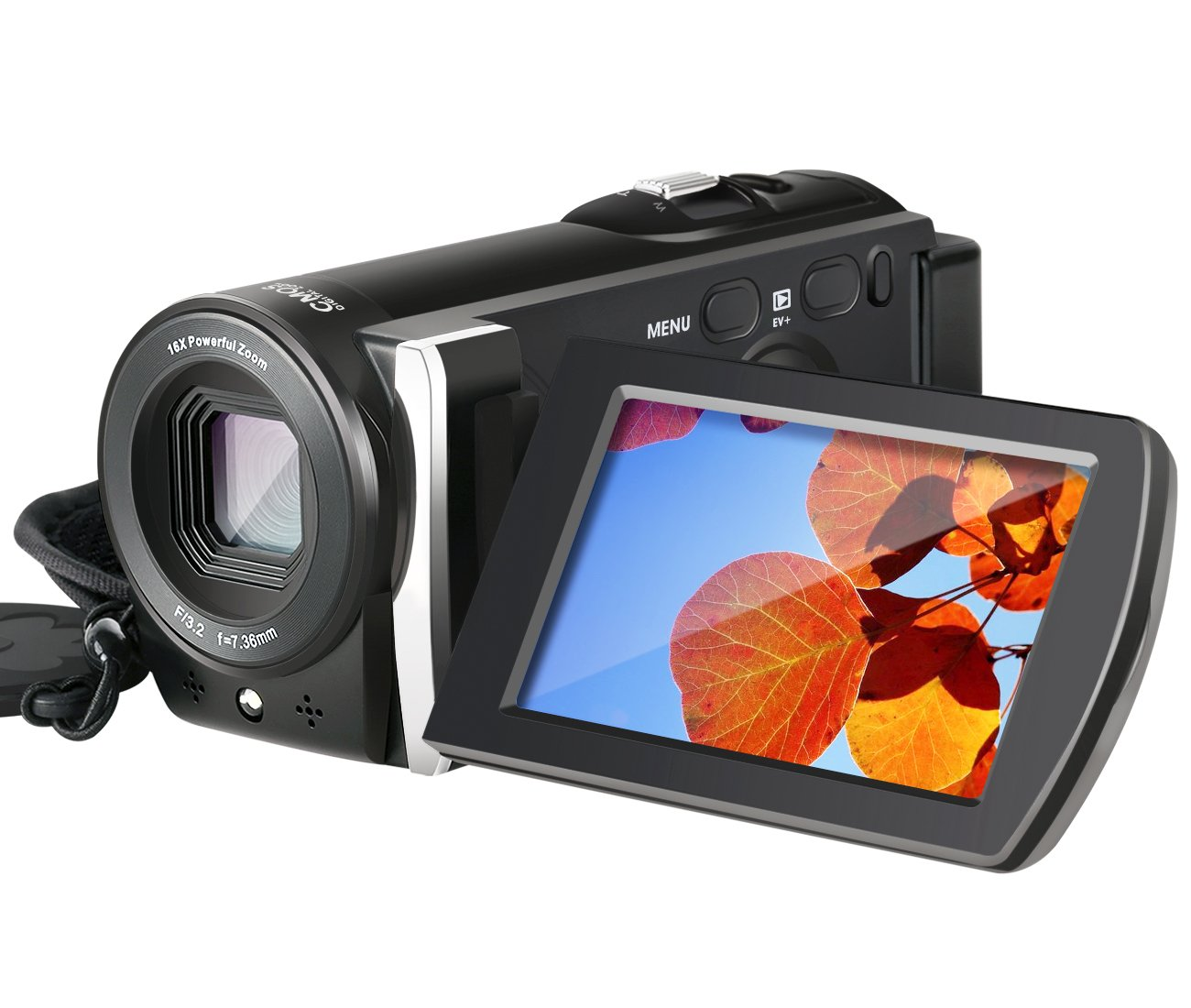 Camera Camcorder, Besteker 1080P Video Camera 20MP 16X Digital Zoom Handycam Camcorder with 3.0'' TFT LCD Screen support HDMI Output