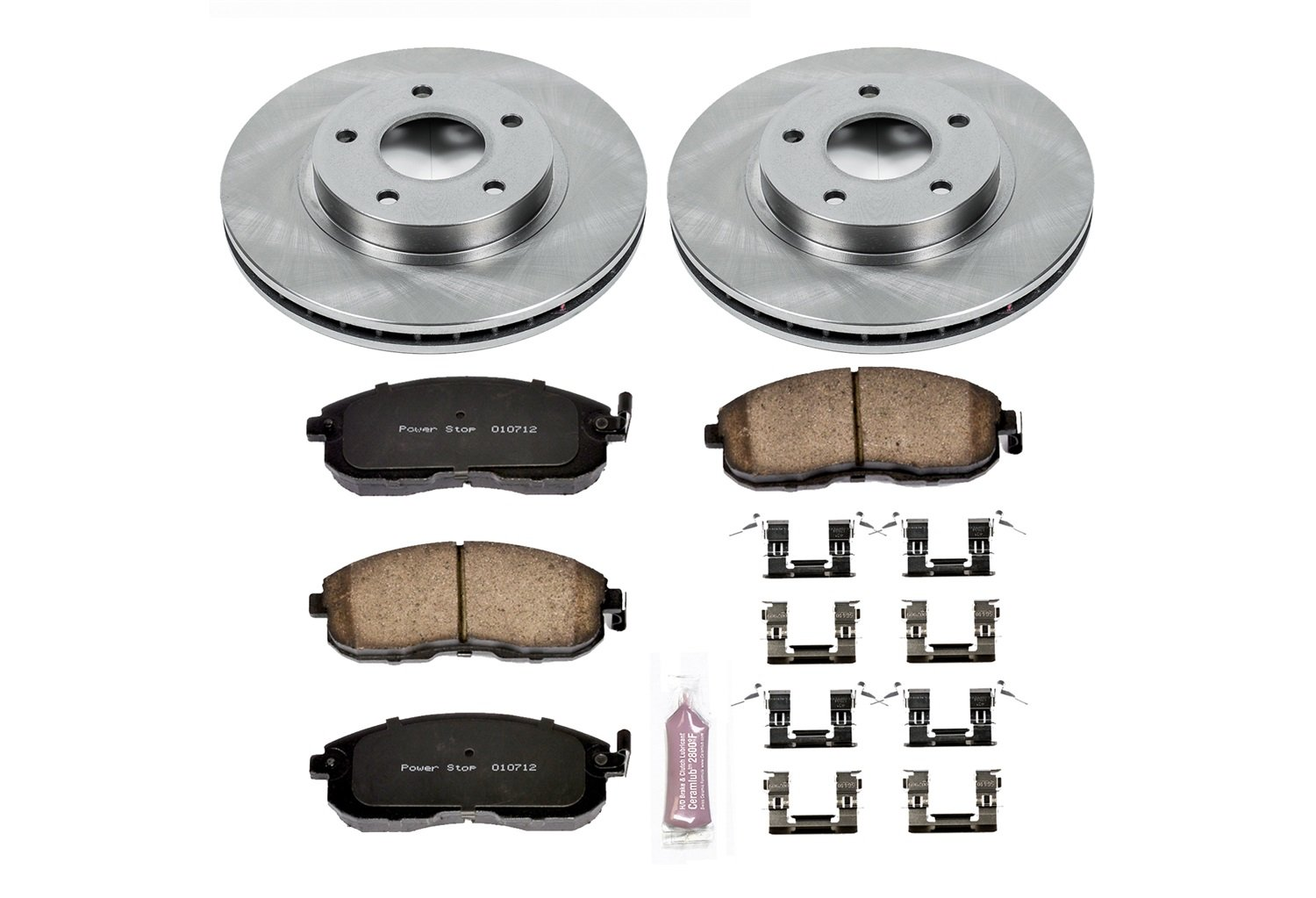 Autospecialty KOE3137 1-Click OE Replacement Brake Kit